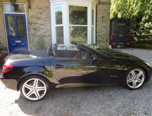 MERCEDES SLK200 KOMPRESSOR AUTO CONVERTIBLE 59 REG ONLY 49,000 MILES £6,995 NOW SOLD