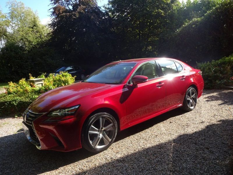 LEXUS GS 300 LUXURY HYBRID SELF CHARGING 2017.ONLY 9,600  miles £26,995